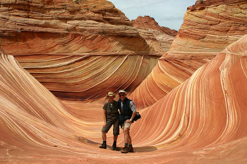 The Wave in Vermillion Cliffs