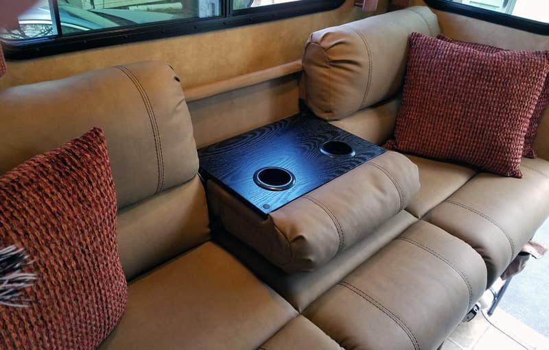 Thomas Payne Sofa in truck camper