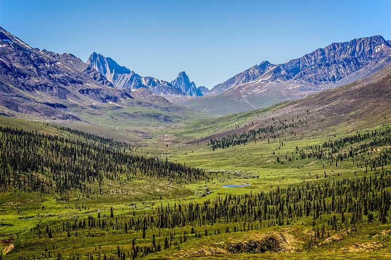 Thombstone Range Alaska