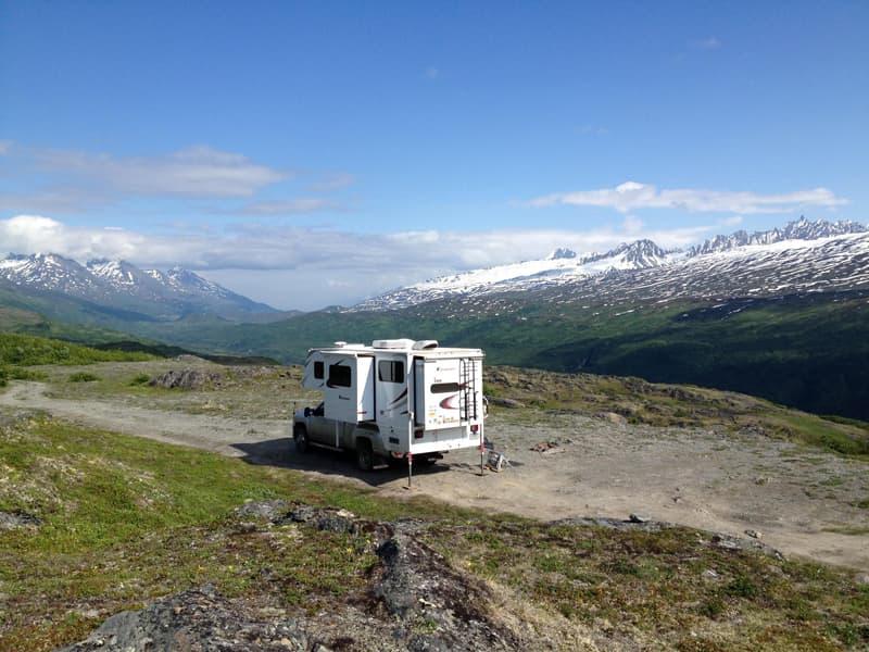 Thompson Pass, Richardson Highway outside Valdez, Alaska