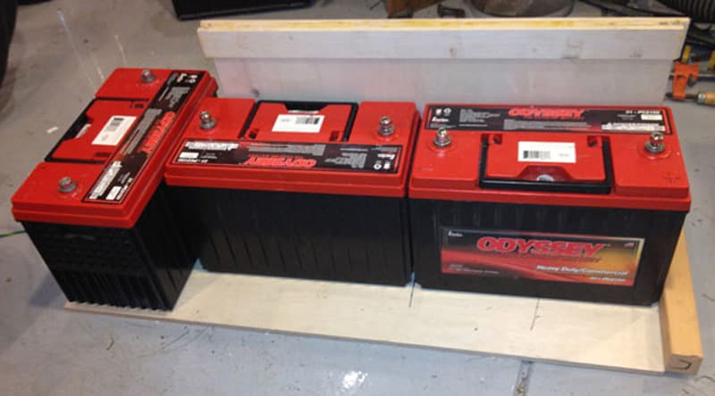 AGM Odyssey batteries