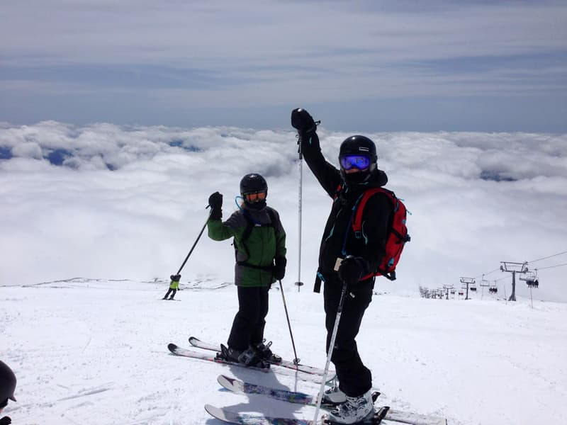Ski at Timberline, Mt Hood Oregon