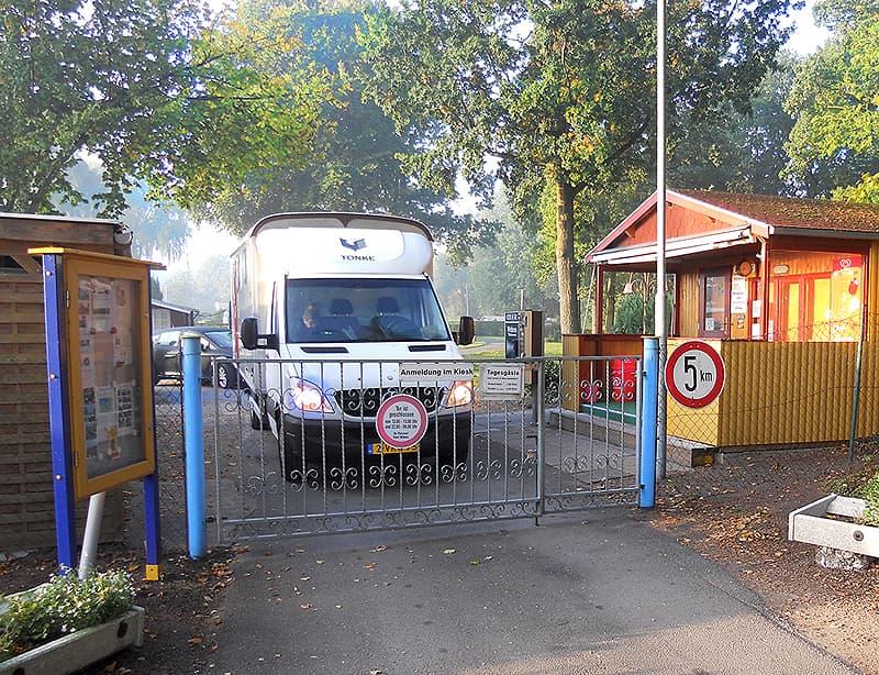 Am Deich campingplatz gate