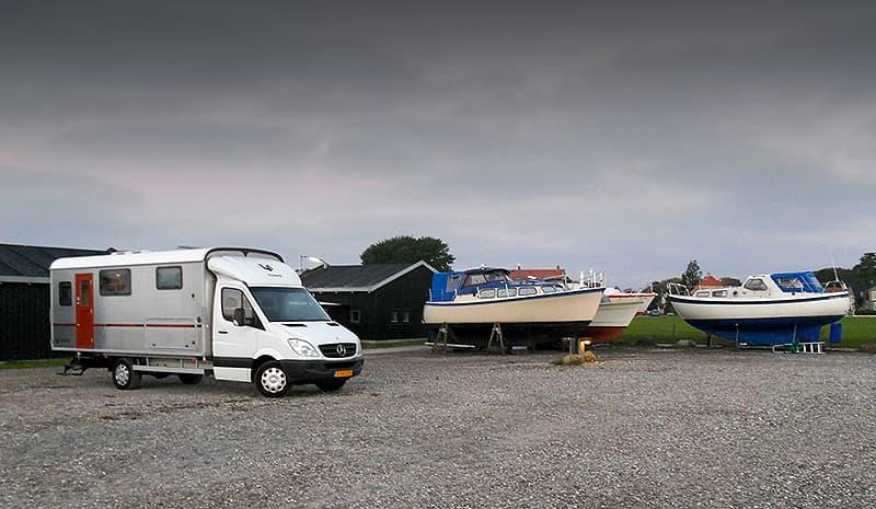 Dragor Harbor Tonke Camper