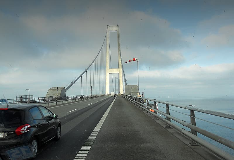 Denmark to Sweden bridge