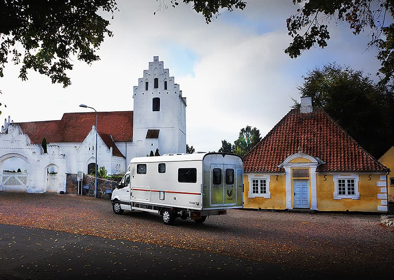 Aunslev Kirke Church from 1650
