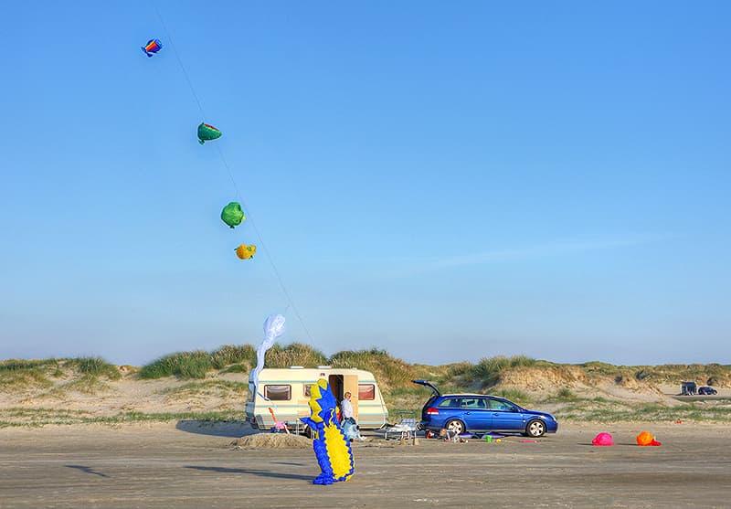 Lakolk Strand, on Romo island in the Wadden Sea