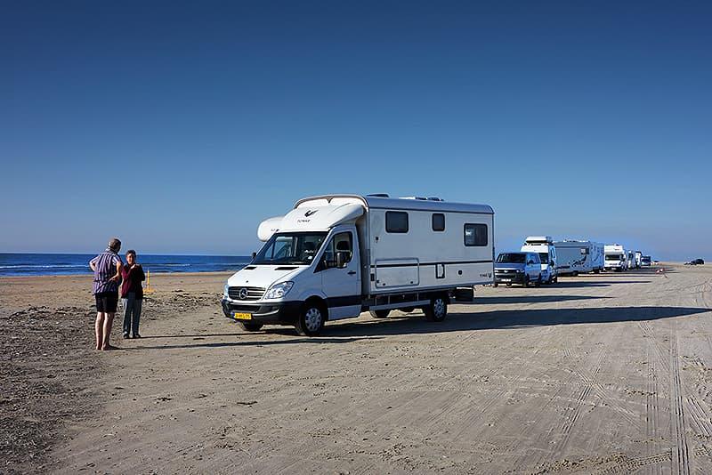 Kolka beach