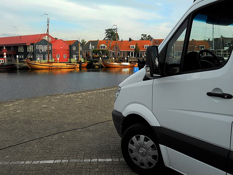 old canals in Holland