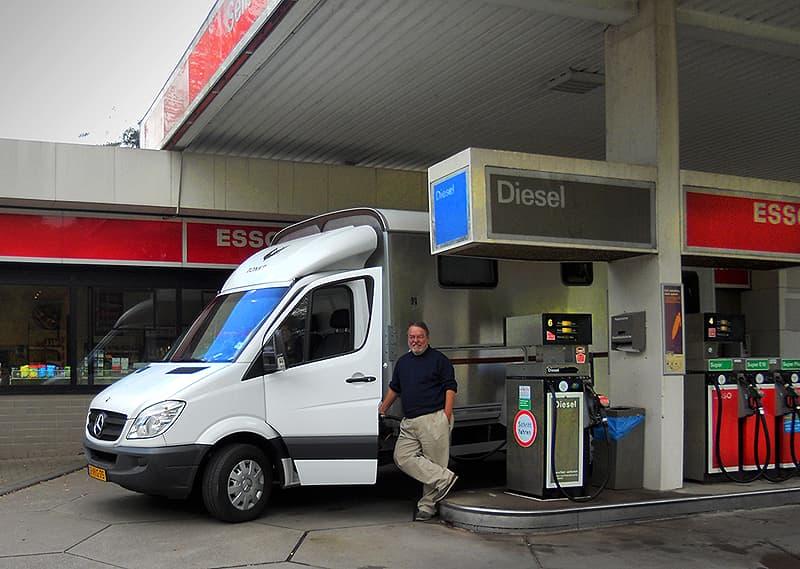 Getting diesel in Worpswede