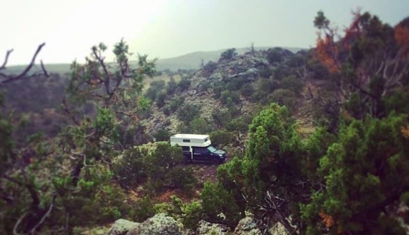 Top of Twin Hills, Santa Fe, New Mexico