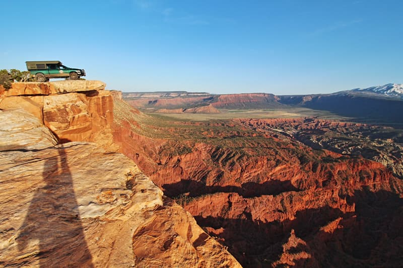 Top Of The World, Near Moab, Utah