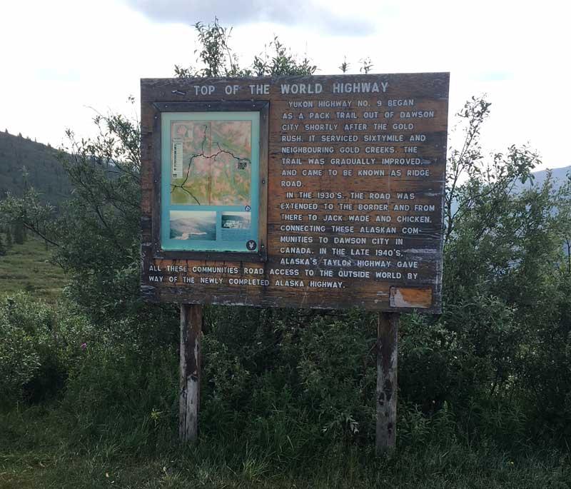 Top Of The World Yukon Highway