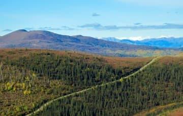 Top-of-the-World-highway-boondocking Yukon Territory