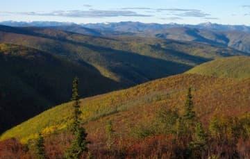Top of the World Highway, Yukon Territory