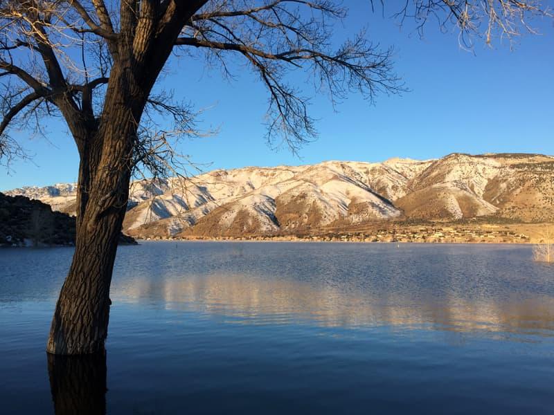 Topaz Lake Nevada And California Border