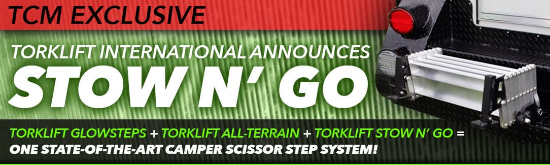 Torklift Stow N Go Step System
