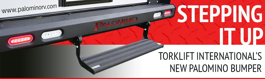 Torklift Palomino Bumper For Pop-Up Campers