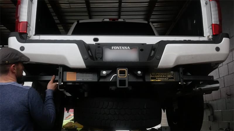 Torklift Rear Tie-Downs for 2017 Ford super duty trucks