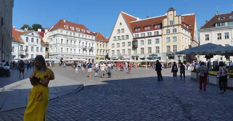 Town Of Tallinn Estonia