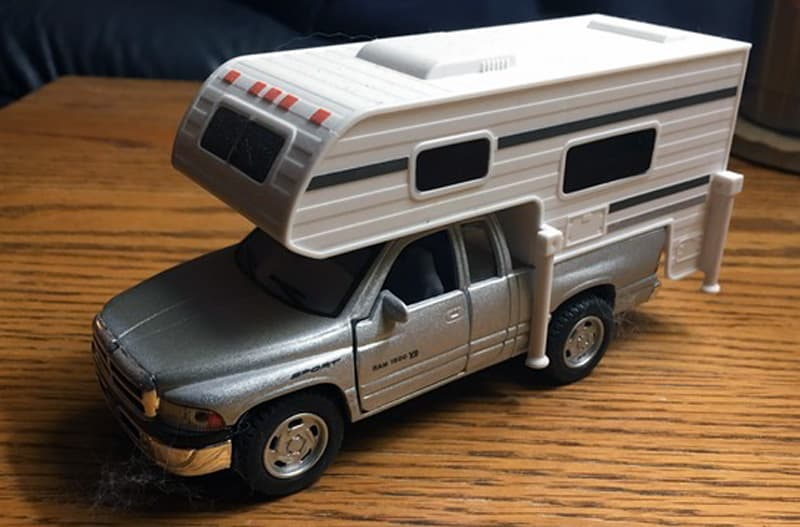 Toy Dodge Camper