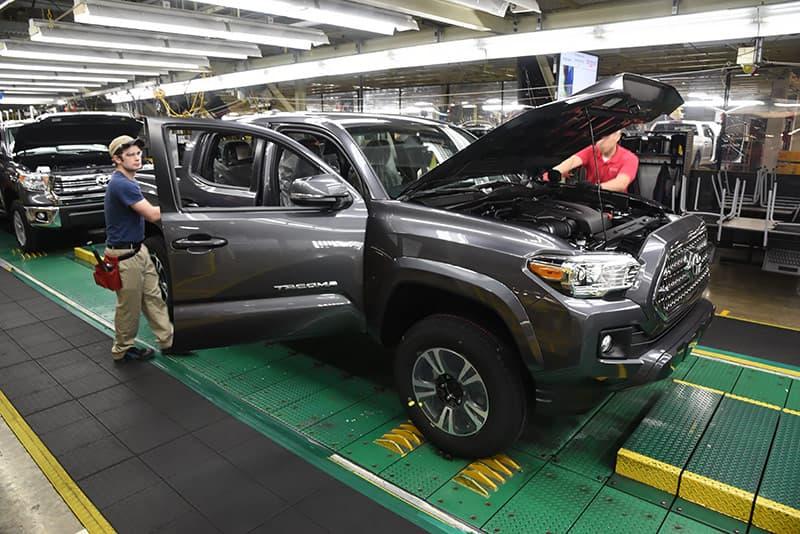 Toyota Truck Final Inspection