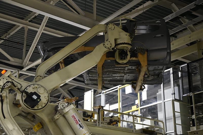 Godzilla Robot at Toyota Truck Plant
