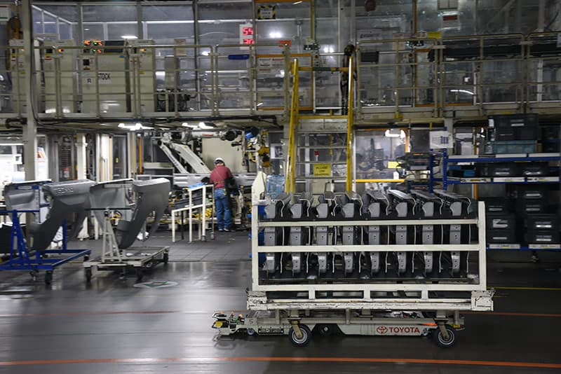 Roving Robots at Toyota