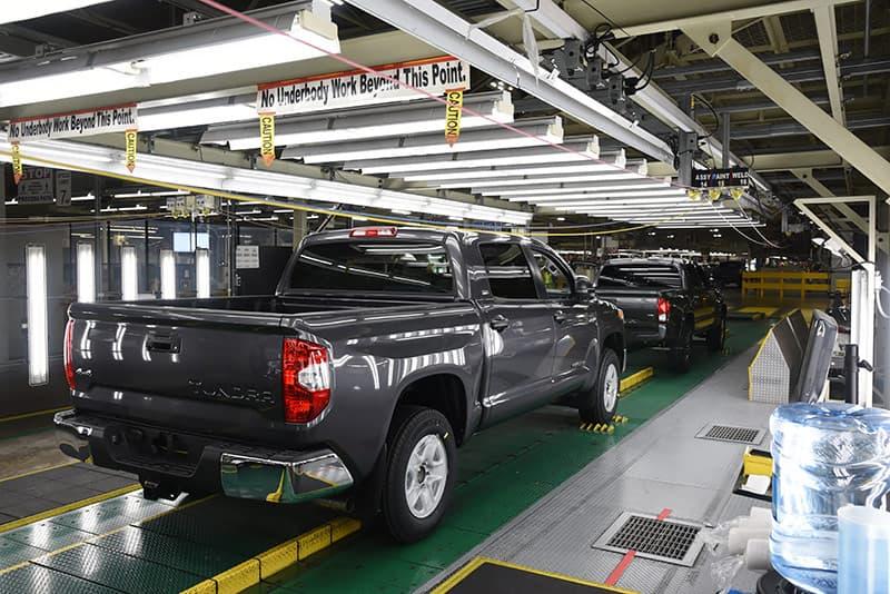 Shine Bay at Toyota Trucks