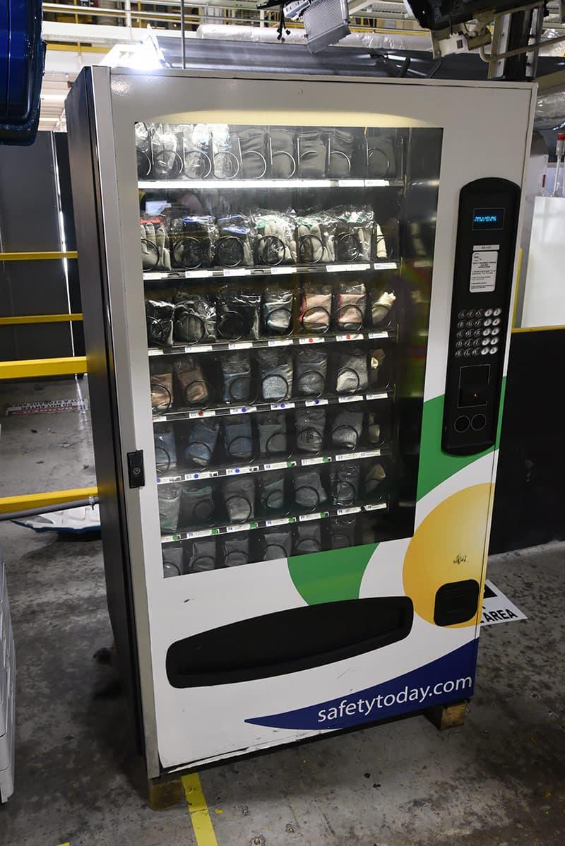 Toyota Truck Vending Machine