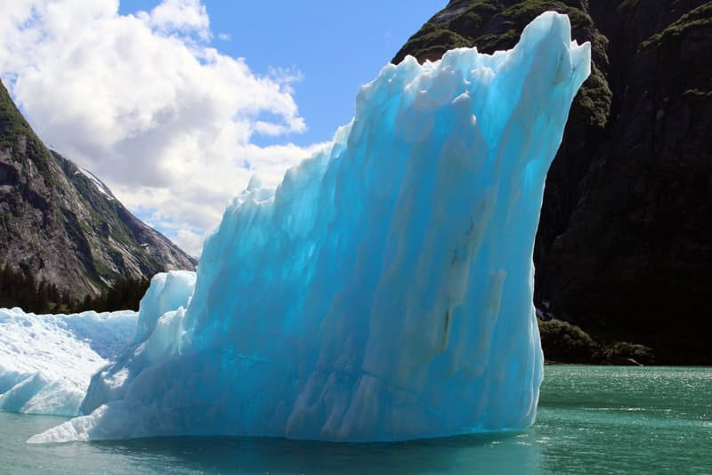 Tracy Arm Fjord ice