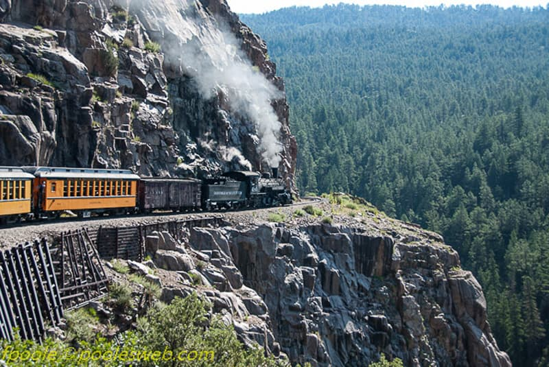 Silverton to Durango Colorado Train Tour