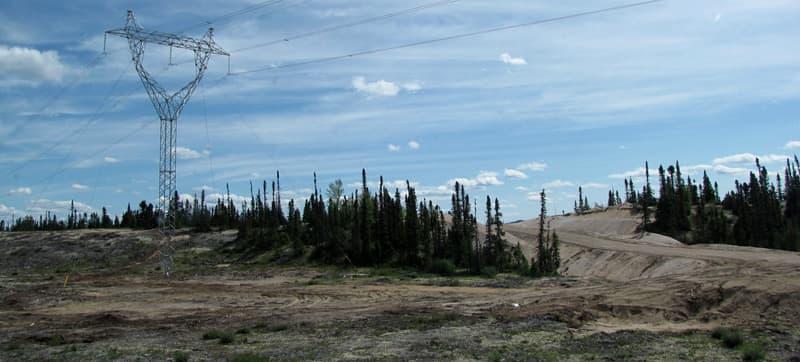 Churchill Falls Power Line Corridor
