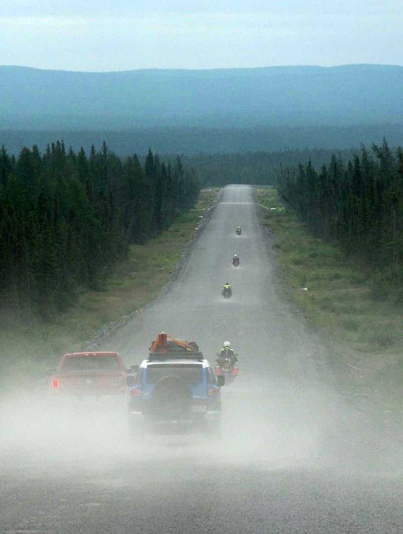 Red Bay Labrador dirt road