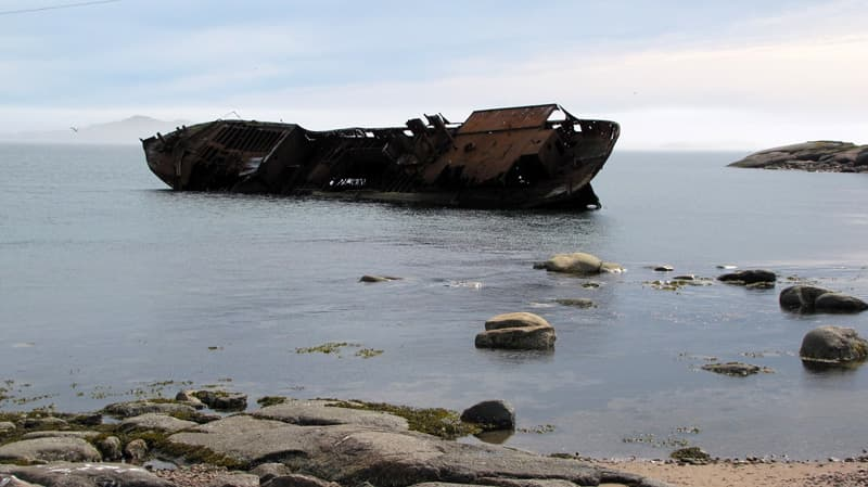 The Bernier Shipwreck
