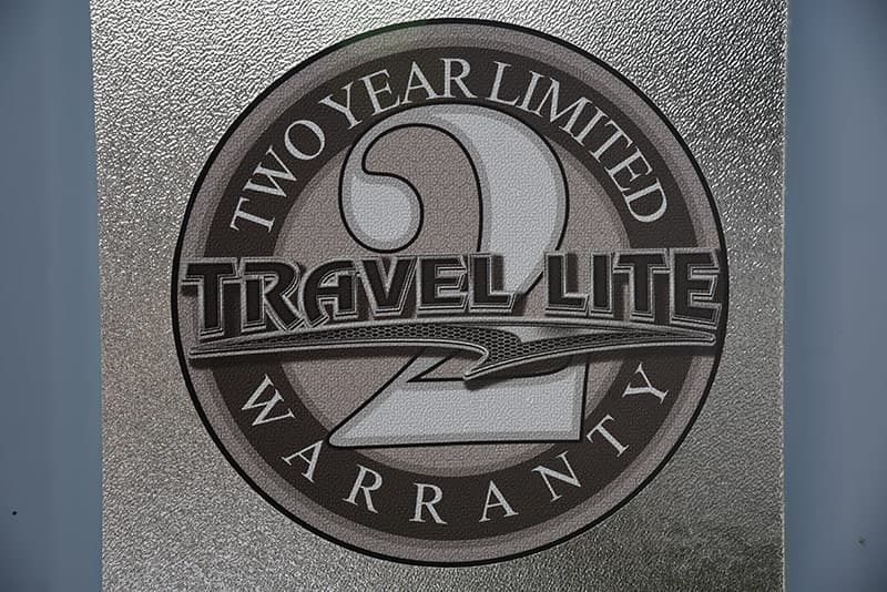 Travel Lite 2 Year Limited Warranty