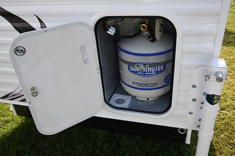 Travel Lite Air twenty-pound propane bottle
