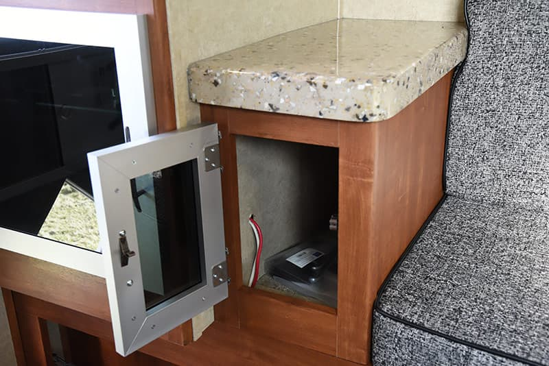 Travel Lite Air cabinet under table