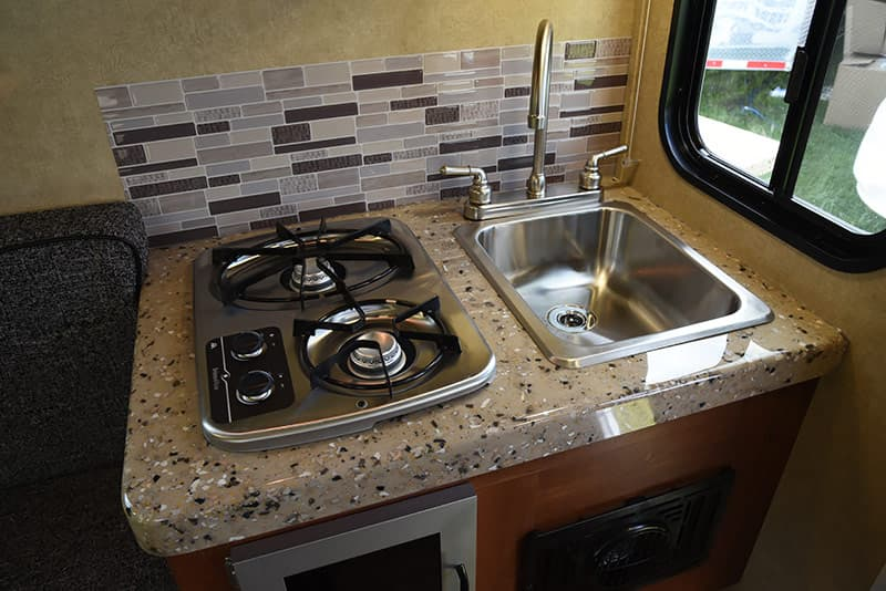 Travel Lite Air camper kitchen countertop