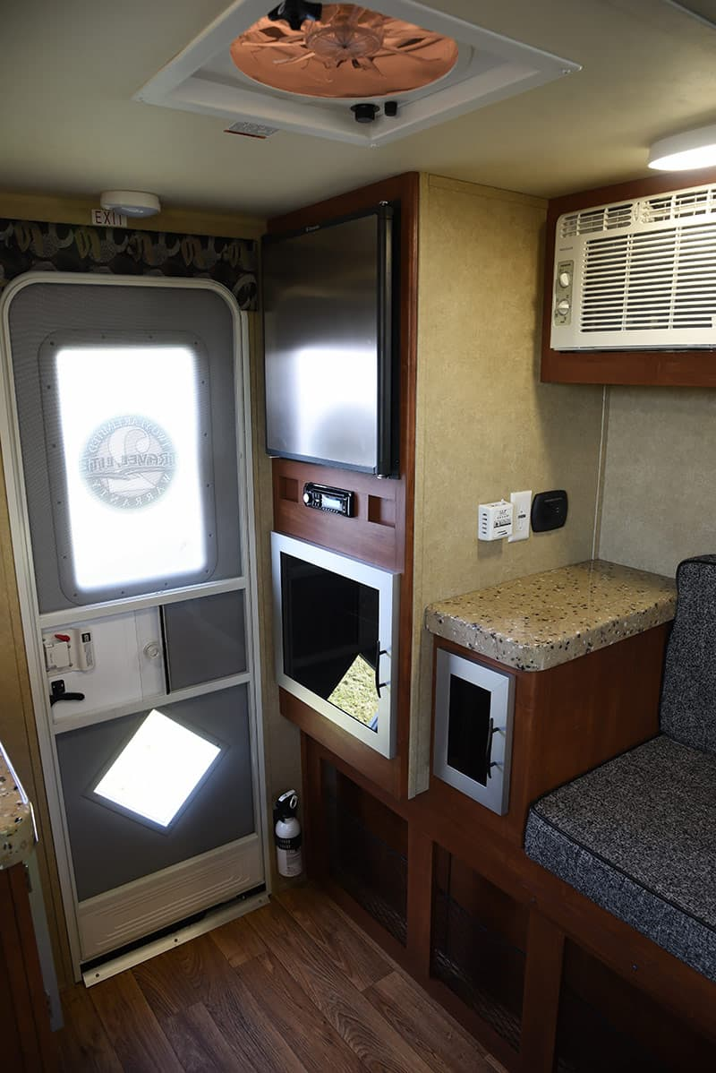 Travel Lite Air camper entry door