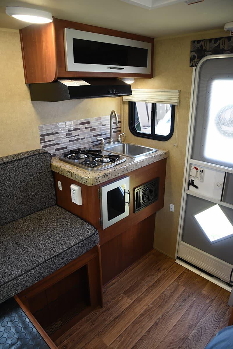 Travel Lite Air rear passenger side interior