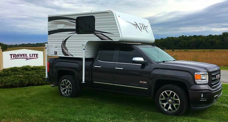 GMC 1500 and Travel Lite Air Camper