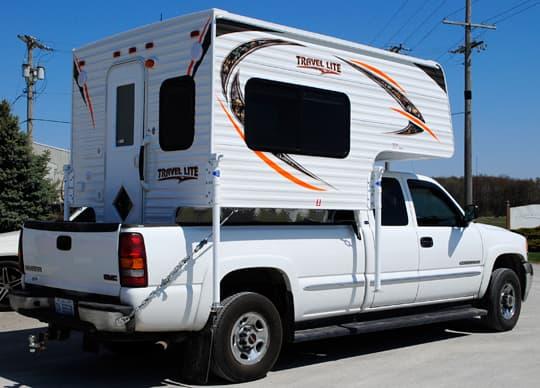 Full Size Truck Camper  Ft Bed