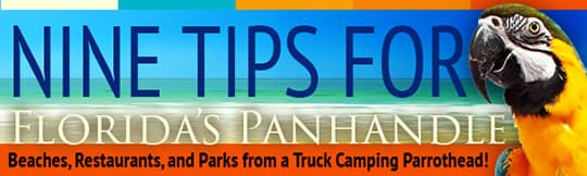 RV Campgrounds in the Florida Panhandle