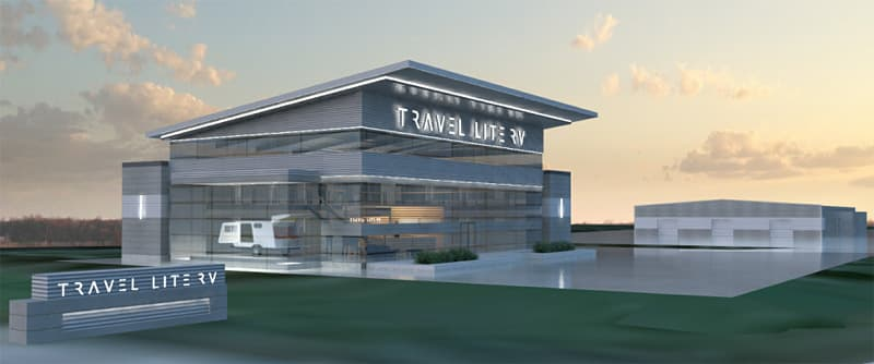 Travel Lite new building rendering