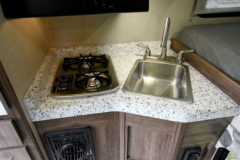 Travel Lite stainless sinks