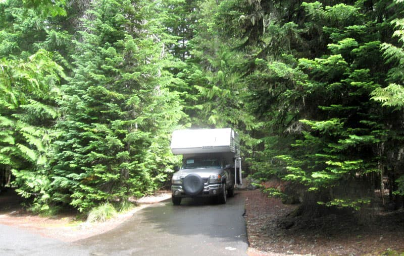 Trillium Lake Campground
