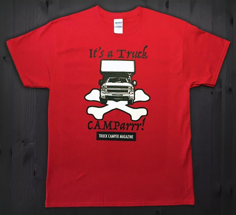 Truck-Camparrr-T-Shirt