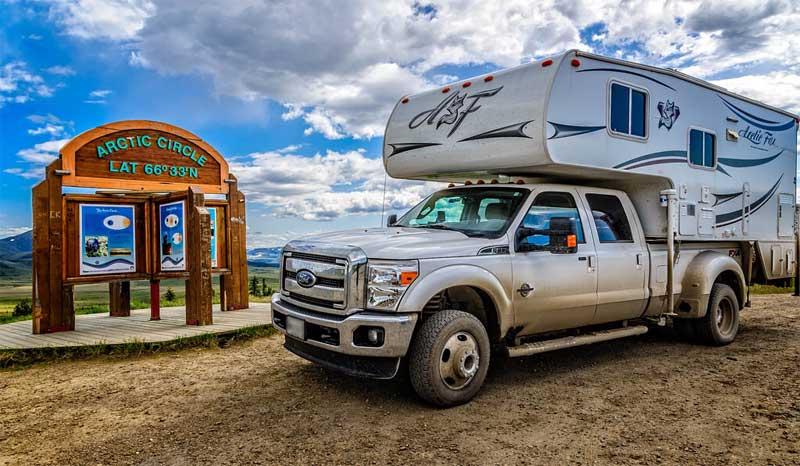 Truck Camper Arctic Circle