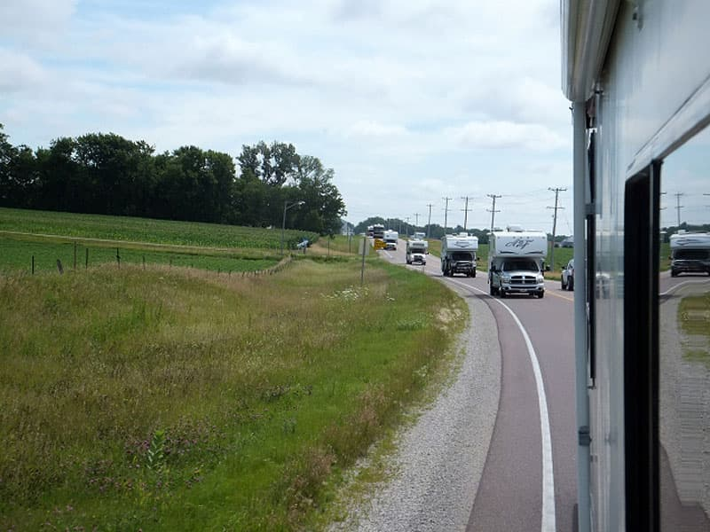 Truck Camper Caravan